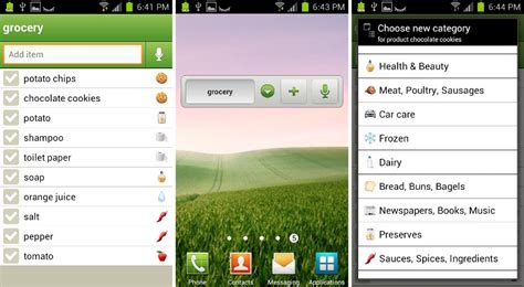 list of app stores for android best grocery list apps for android
