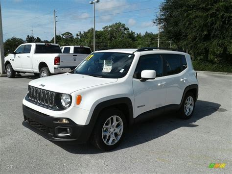 jeep renegade white 2017 alpine white jeep renegade latitude 122330241 photo