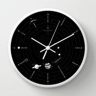 horloge chambre bébé solar system wall clock produits et technologie