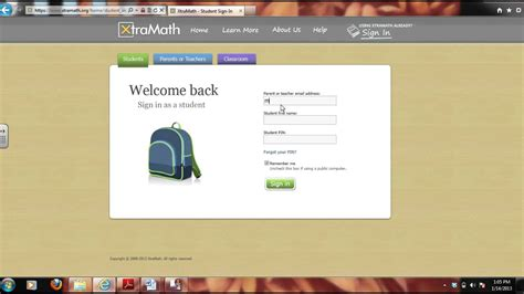 How to Use Xtramath.com - YouTube Xtramath.org Sign In