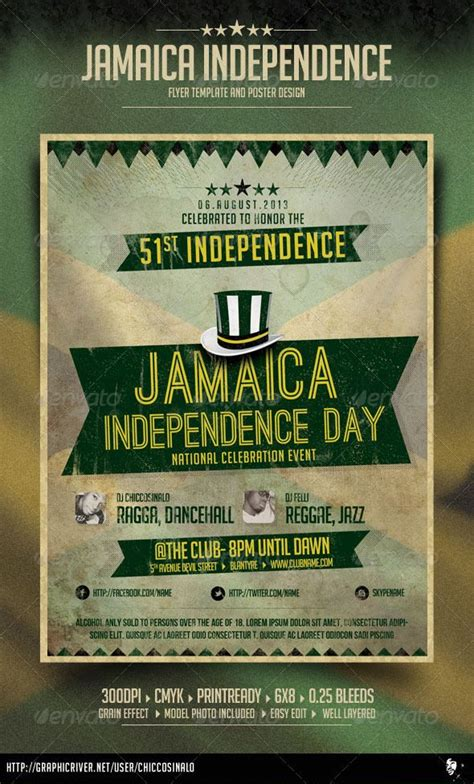 The 25 Best Jamaica Independence Ideas On Pinterest Appleton Rum 50 Years Old And Rum Bottle Jamaican Flyer Templates