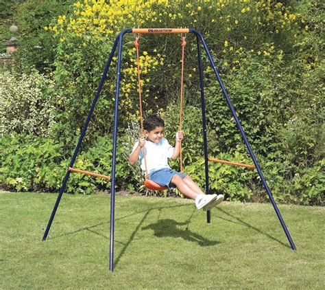 small space swing set small swing sets fun in your backyard outdoor toys