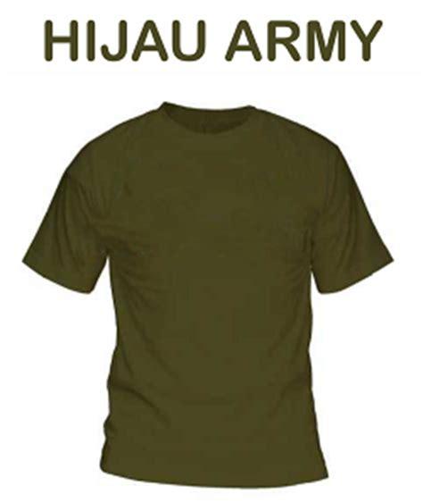 Baju U S Army jasa kaos print dtg murah warna polo