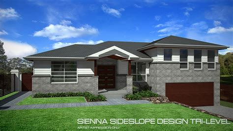 tri level home tri level sideslope design 27 squares home design