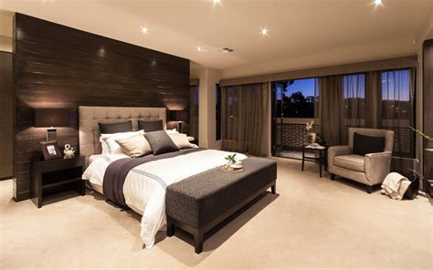Live Modern With The Chicago Home With Metricon Bedroom Designs Australia