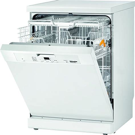 Dishwasher Cutlery Drawer by Miele G4203sc White Freestanding Dishwasher With Cutlery