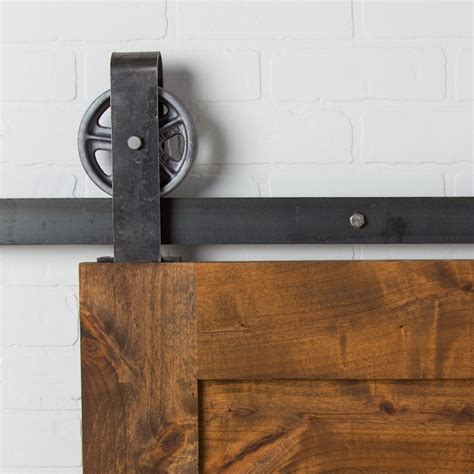 Small Barn Door Hardware Vintage Loop Top Mount Flat Track Hardware Barndoorhardware