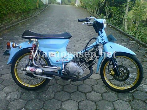 Mesin Yamaha honda quot c135 quot lc 4valves ketika motor honda pakai mesin