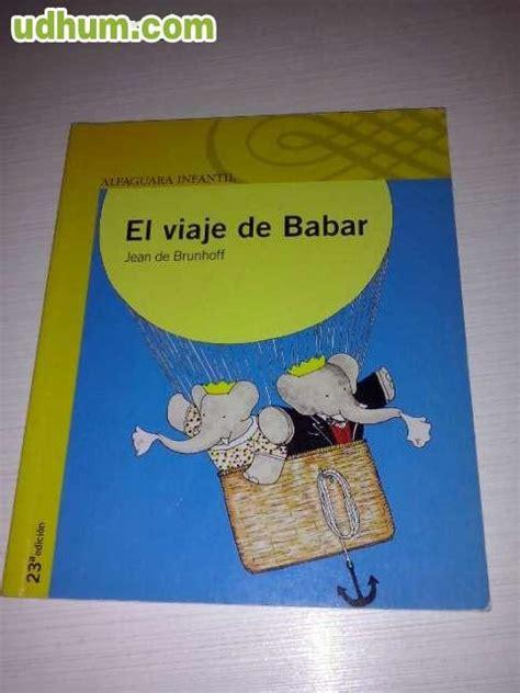 el viaje de babar 8497437152 libros de bolsillo infantil