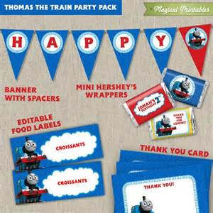 printable thomas the train party decorations 7 best thomas party images on pinterest kid parties