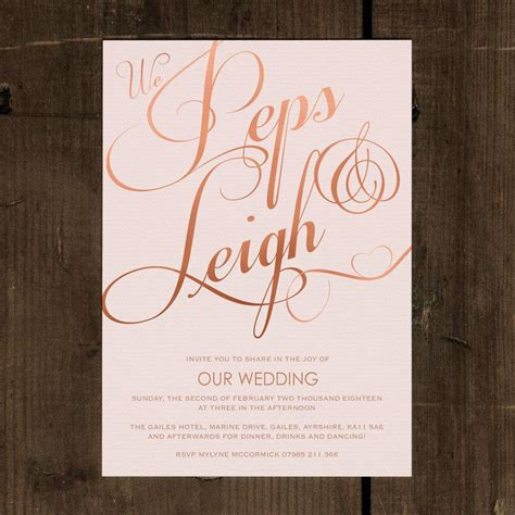 Luxury Wedding Invitation Cards Uk by Classic Wedding Invitation Set On Luxury Card