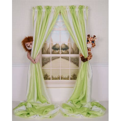 Tie Backs For Nursery Curtains Curtain Critters Baby Nursery Jungle Giraffe Curtain Tie Backs Was Closed 18 Dec 2014 At
