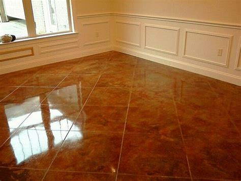 Concrete Floor Ideas Indoors Stain Concrete Floors Indoors Pictures Con Cr Ete Staining Indoor Flooring Pinterest