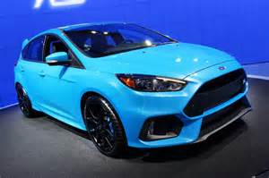 new car rs 2016 ford focus rs at the new york auto show