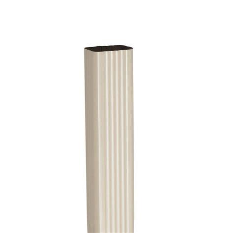 rainhandler 2 in x 5 ft aluminum fascia mounted