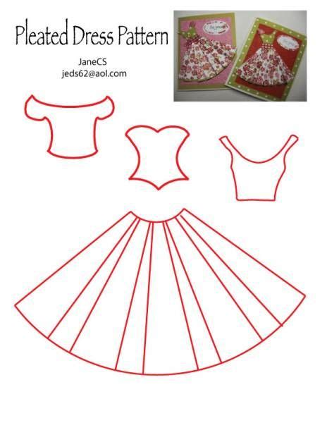 How To Make Paper Dress - 25 best ideas about dress card on cards diy