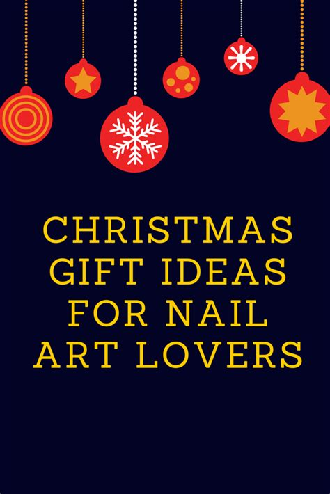 christmas gift ideas for nail art lovers part 1 nail