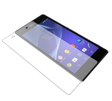 Tempered Glass Bazel Sony C3 dr vaku 174 sony xperia c3 ultra thin 0 2mm 2 5d curved edge tempered glass screen protector