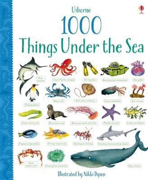My Things That Go 1000 things the sea primmer 9781409582656