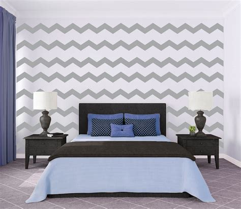 chevron wall stickers chevron wall decals trendy wall designs