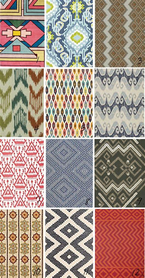 tribal pattern types 12 types simple ikat design