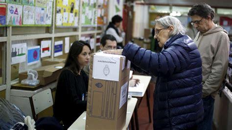 resultados elecciones segunda vuelta en argentina 191 qu 233 decidir 225 el resultado de la segunda vuelta de las