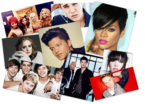 pop artists impressions adelina kinnane collage of pop artists