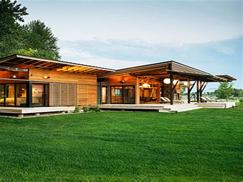 modern style home plans modern ranch house design