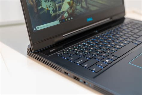 dell g7 15 7590 review 9th and rtx power in a low key chassis pcworld