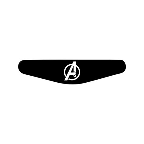 Ps4 Logo Aufkleber by Avengers Logo Play Station Ps4 Lightbar Sticker