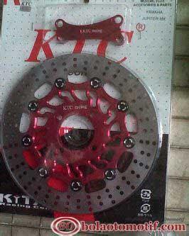 Piringan Disk Ktc modifikasi new yamaha jupiter mx beserta aksesorisnya bolaotomotif