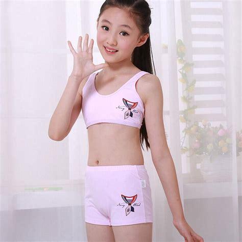 training bra junior girls in panties junior girls underwear set including training bras boxer