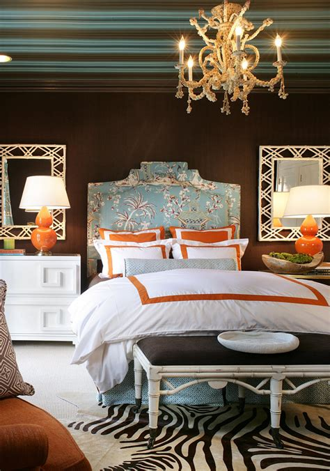 turquoise and orange bedroom cottage modern an accidental favorite turquoise orange