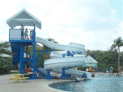 boatswain s adventure marine park water slide picture of cayman turtle centre island