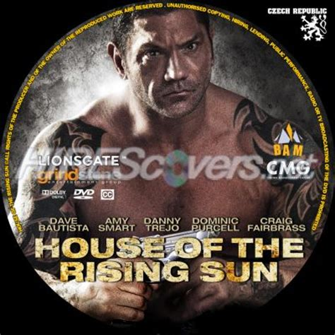 house of the rising sun cover dvd cover custom dvd covers bluray label movie art dvd labels inserts h house