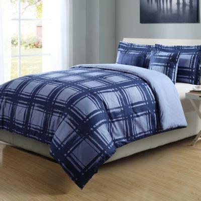 Blue Xl Comforter by Buy Micro Splendor Xl Comforter Set In Navy Blue