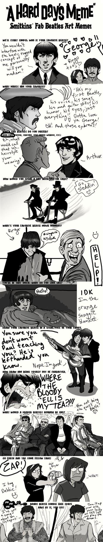 Beatles Meme - beatles on pinterest george harrison the beatles and