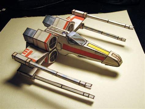 X Wing Papercraft - wars x wing papercraft jpg