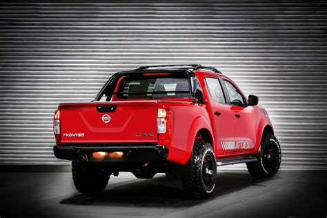 nissan frontier nissan frontier attack concept unveiled in buenos aires