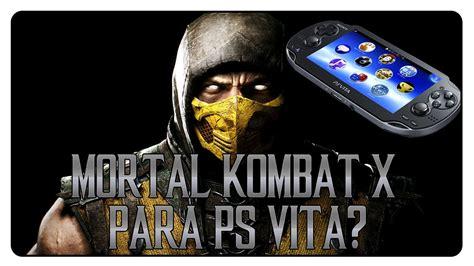 Psvita Mortal Kombat By Waroengame mkx mortal kombat x para ps vita ed boon responde