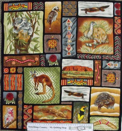 Patchwork Blogs Australia - patchwork quilting fabric australian aboriginal animals