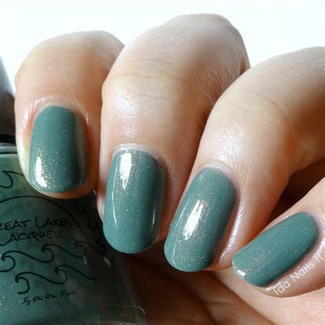 Ida Nails It Great Lakes Lacquer March 2017 Le S