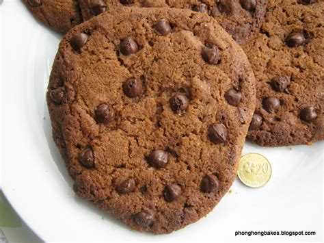 Cookies Milo Coklat phong hong bakes and cooks milo nuggets and chocolate chip cookies