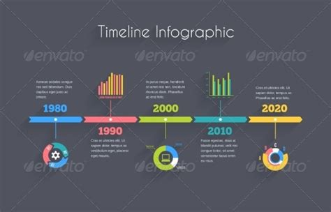 Timeline Infographic Template By Neyro2008 Graphicriver Infographic Indesign Template