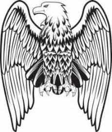 eagle wings drawing clipart best