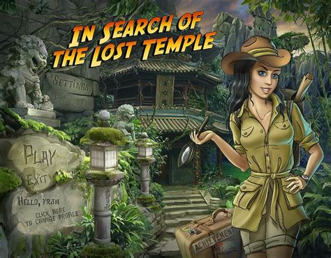 Find Lost Free In Search Of The Lost Temple Free