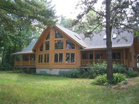 Cabin Rentals In Michigan by Lake Huron Large Log Home Homeaway