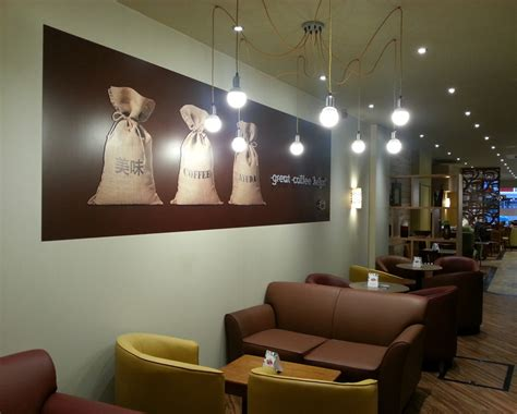 coffee shop lighting guide shopfitters complete new look esquires coffee house