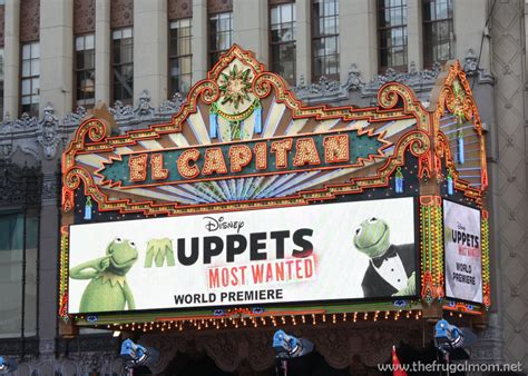 Last Week I Got Invited To The Premiere Of The H by Take A Look At My Muppets Most Wanted Carpet Premiere