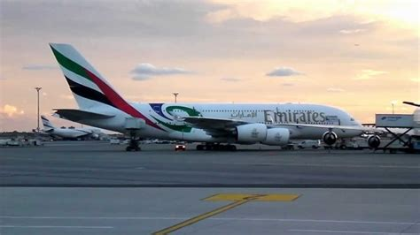 emirates jfk terminal emirates a380 airbus new livery at jfk terminal 4 by